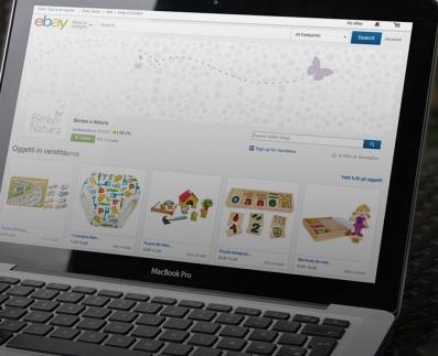 Bimbo e Natura è ora anche su eBay con una soluzione Magento M2E Pro