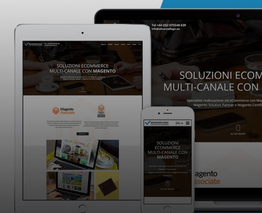 Nuovo sito responsive Advanced Logic