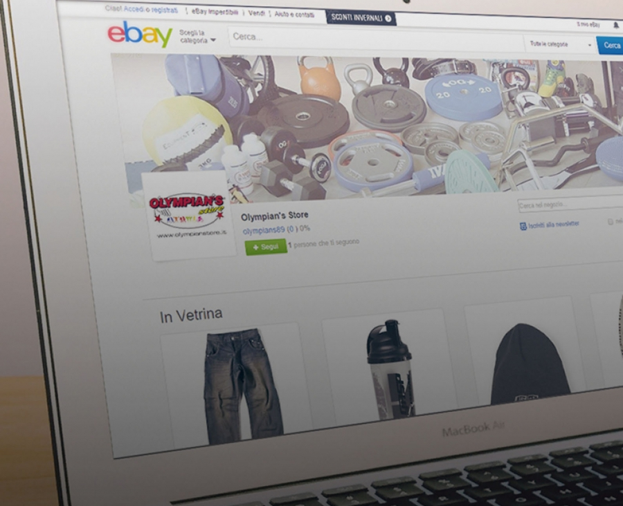 Olympian's is now present also on eBay